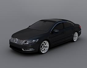 3D Volkswagen Passat CC 2016