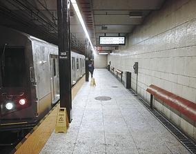 3D asset realtime Subway