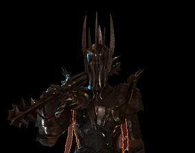 Sauron Armor 3D asset