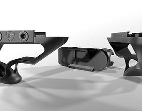 3D asset Fortis SHIFT Short Angled Grip