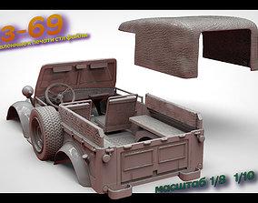 GAZ 69 RC 3D printable model