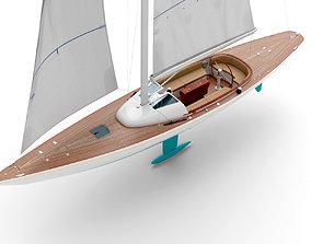 3D Leonardo yacht Eagle 44 CIAN