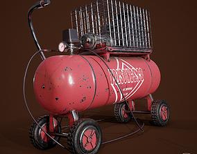 tools Air Compressor 3D model
