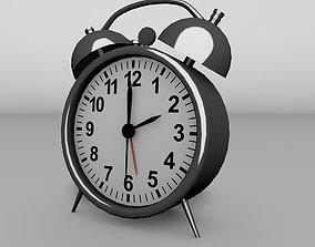 3D asset realtime Vintage Alarm Clock