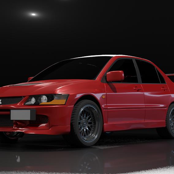 Mitsubishi Evolution IX (9)