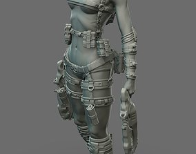 3D Largin - Female Hunter