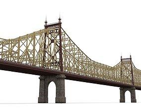 Queensboro Bridge 3D asset