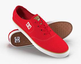 3D model DC Shoes - Flash TX - Red
