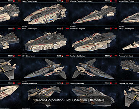 3D model Helicon Corporation Fleet Collection