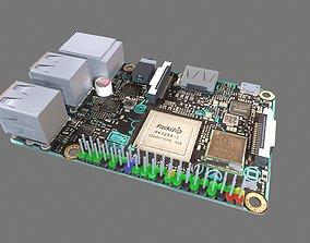 3D asset Asus Tinker Board S Circuit Board