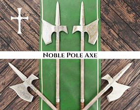 Medieval Noble Pole Axe 3D model