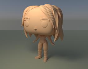 Custom Pop Pentatonix Kirstin Figure DIY 3D Print