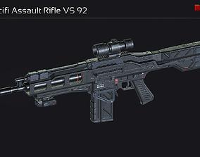 Scifi Assault Rifle VS 92 3D model