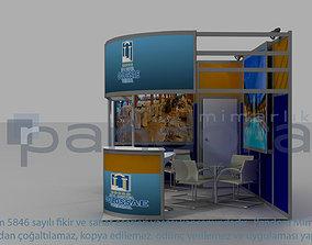 3D model Colosae-Hotel exhibition stand design