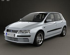 type 3D Fiat Stilo 5-door 2001