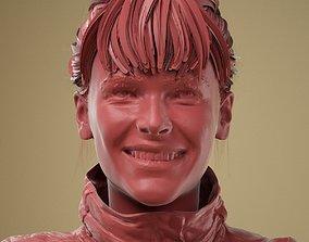 Facial Expression 0-02 Smile 3D