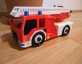 3D print model Fire truck toy