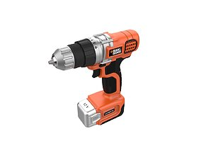 3D print model Black and Decker Cordless Drill