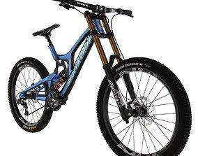 3D Downhill bike