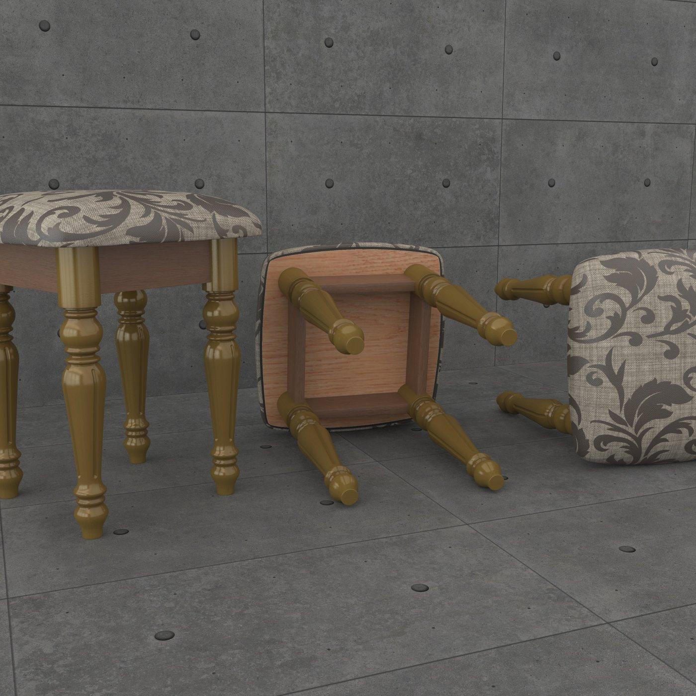 stool green
