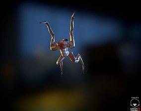 Alien Crawler LowPoly 3D model