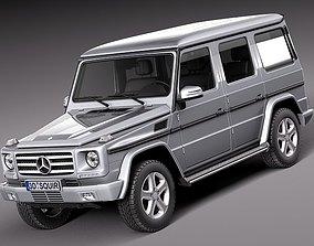 3D model Mercedes- G-class - 2013