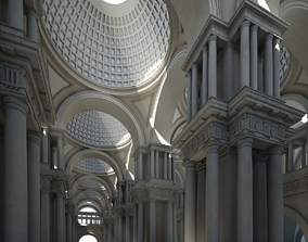 3D model lobby Doric Hall