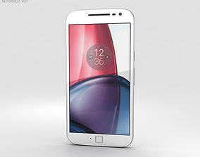 3D Motorola Moto G4 Plus White