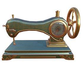3D asset Sewing Machine D20210125