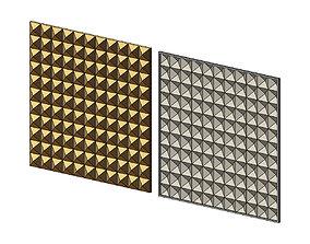 Geometrical Square Diamond pattern 3D printable model