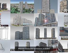 Belgrade Communist Architecture 3D model