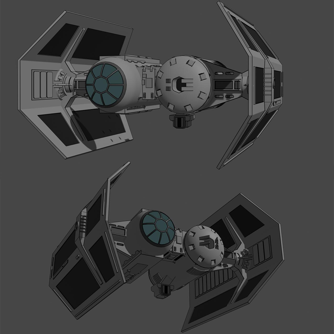 Tie-Bomber - Star Wars - Fan Art