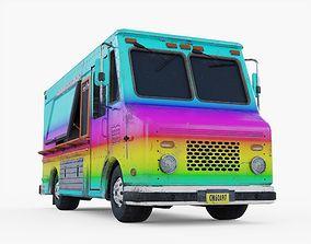 Food Truck 3D asset