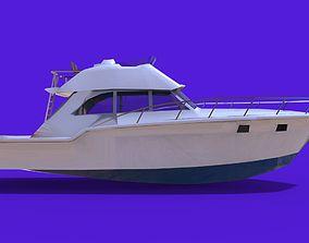 Boat 2 3D asset VR / AR ready