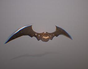 batarang 3D asset game-ready