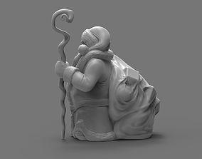 Santa Dwarf 3D print model