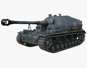 3D Tank K18 Auf Panzer Mental Ray