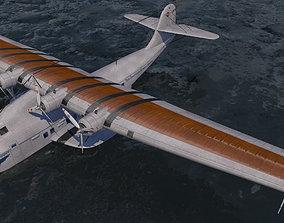 3D model Martin M-130 China Clipper