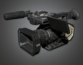 4K Production Camera HLW - PBR Game Ready 3D asset