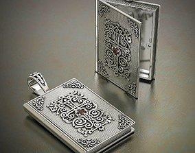 3D print model prayer book pendant