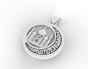 mosque suspension 3D print model