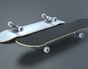 Skateboard - High Quality Realistic Skateboard 3D