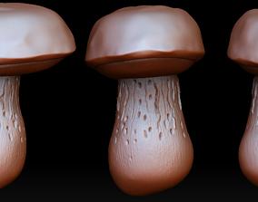 Mushroom pendant 3D print model