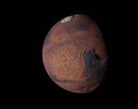 red Mars 3D model