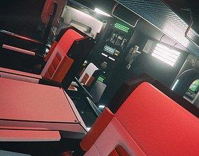 3D model Starship Interior