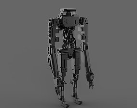 3D model various robotic character