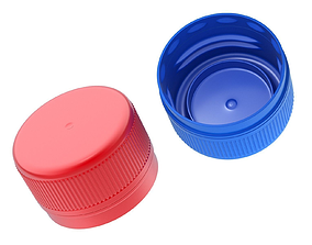 cover Plastic Pet Bottle Cap 3D