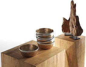 Decorative Objects Set 4 3D model