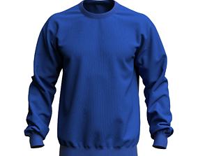 3D digital man sweatshirt 3D model