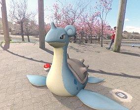 Pokemon lapras 3D asset